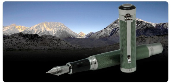 5280 Majestic Jade Fountain Pen
