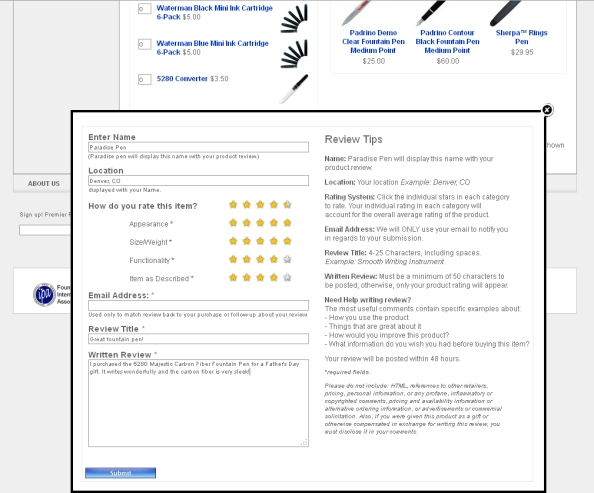 PPC Product Review Screenshot 5